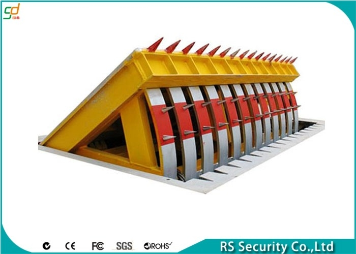 Yellow CE Approved Road Traffic Vehicle Blockers Heavy Duty Facilit