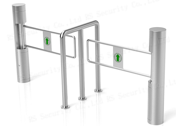 Swing Barrier Turnstile Security Systems, Optical Pedestrian Access Gate